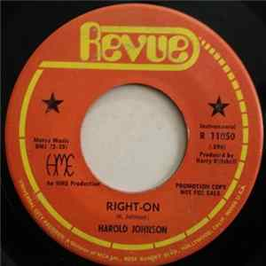 Harold Johnson - Right-On / Soul Perception Download