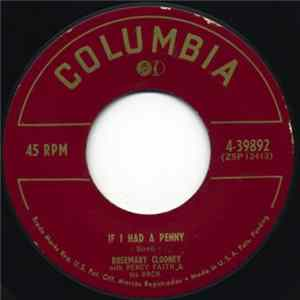 Rosemary Clooney - If I Had A Penny / You're After My Own Heart Download